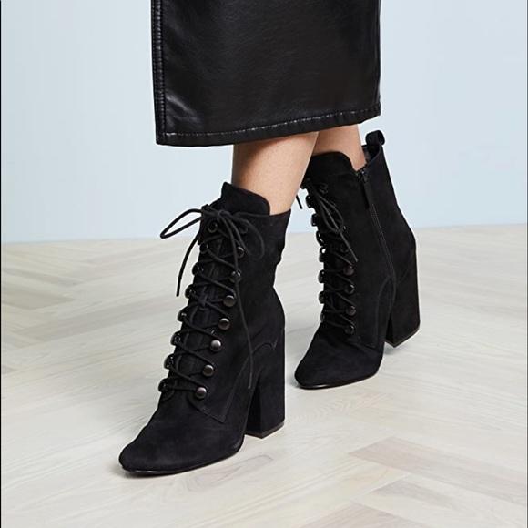 Shoe Republic LA KEYLE Womens Lace Up Ankle Dress Boots
